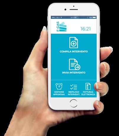 Scopri l'App F-GAS Invio CamereCom